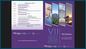 Programa –  VII Congreso nacional de cirugia plastica de El Salvador
