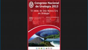 Propuesta de Afiche para Congreso de Urología 2013