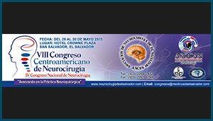 Separador XIII Congreso Centroamericano de Neurocirugía